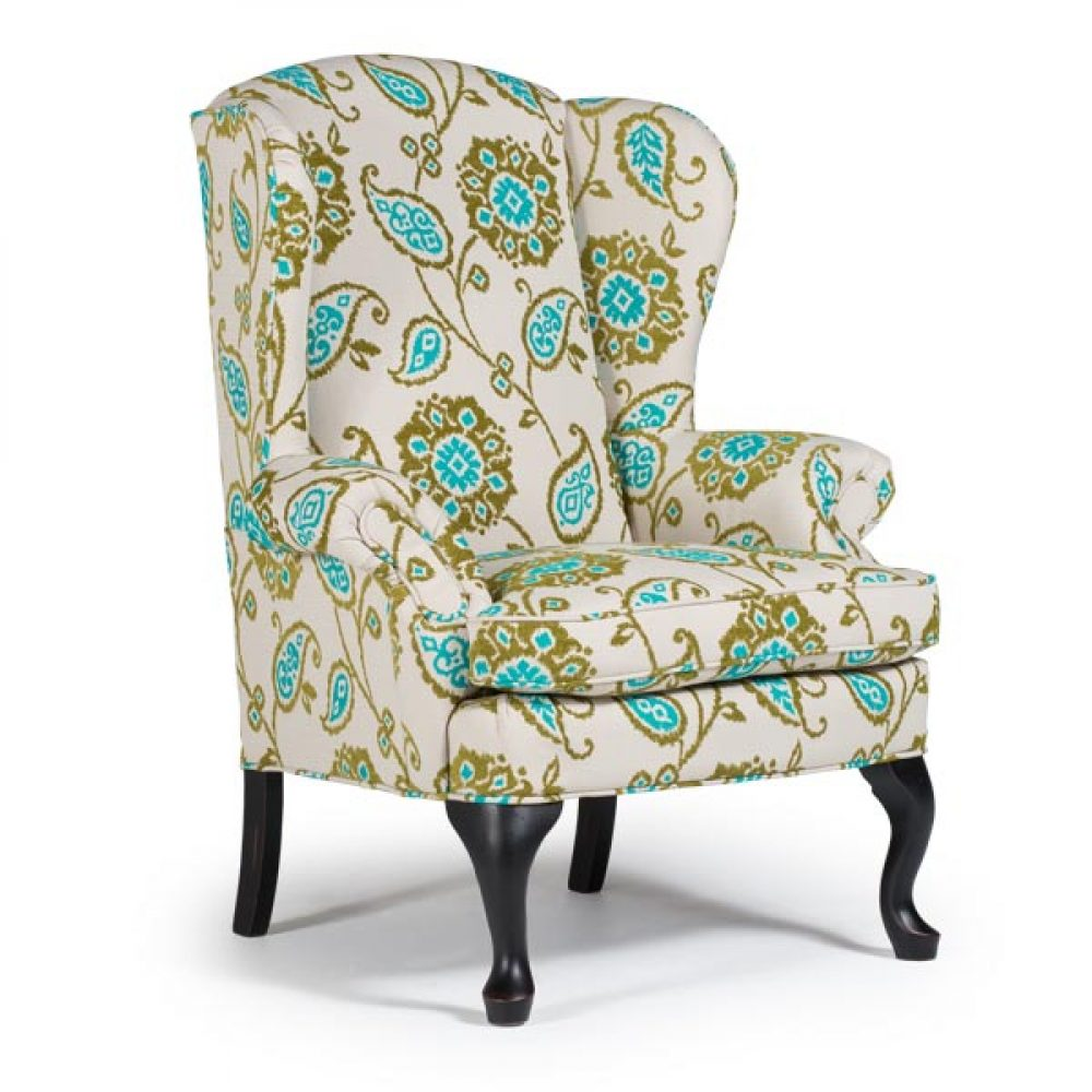 Phenomenal Sylvia Queen Anne Wing Chair By Best Home Furnishings Gamerscity Chair Design For Home Gamerscityorg