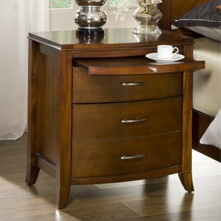 Brighton Nightstand W Charging Station By Modus Broadway Furniture