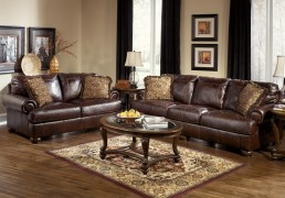 Ashley-Furniture-Axiom-Leather-Living-Room-Set