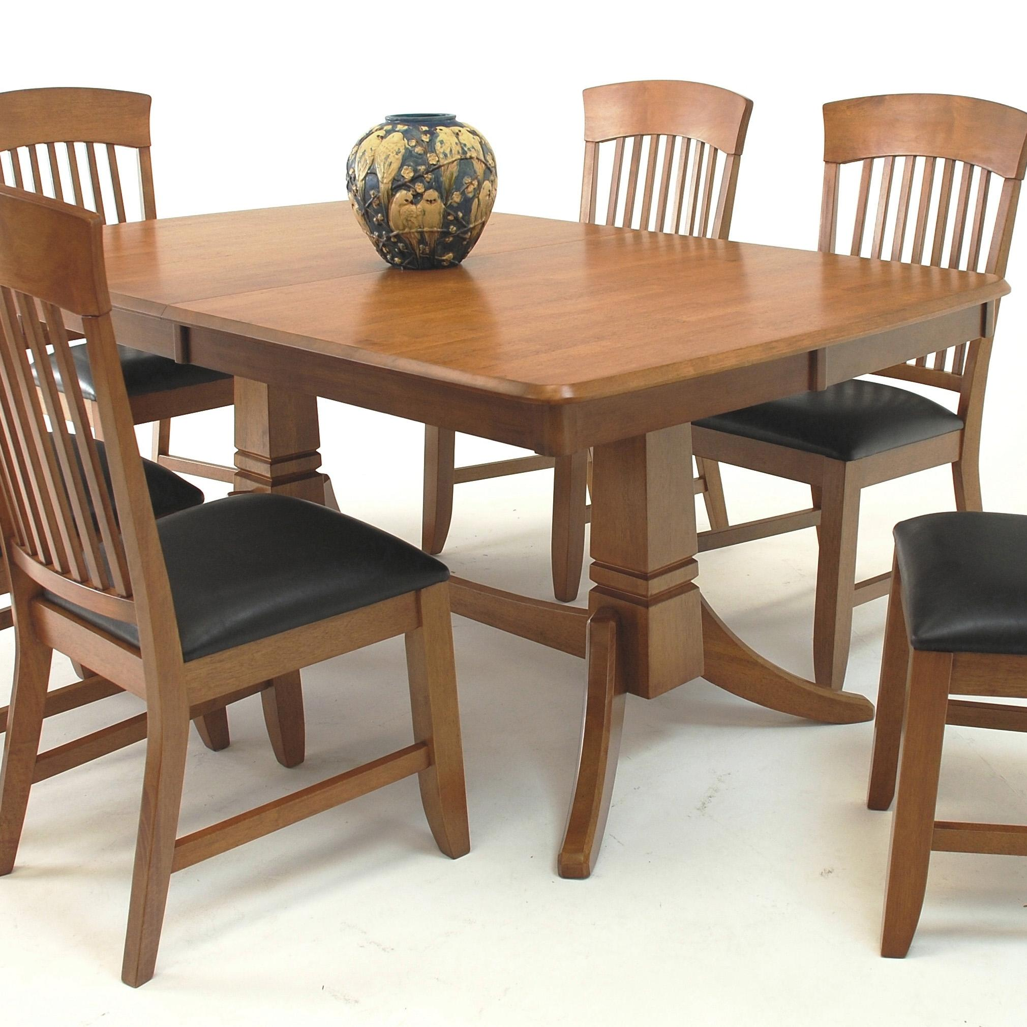 Trestle Dining Room Sets Suburban Home Trestle Dining Table And Chair Set Broadway