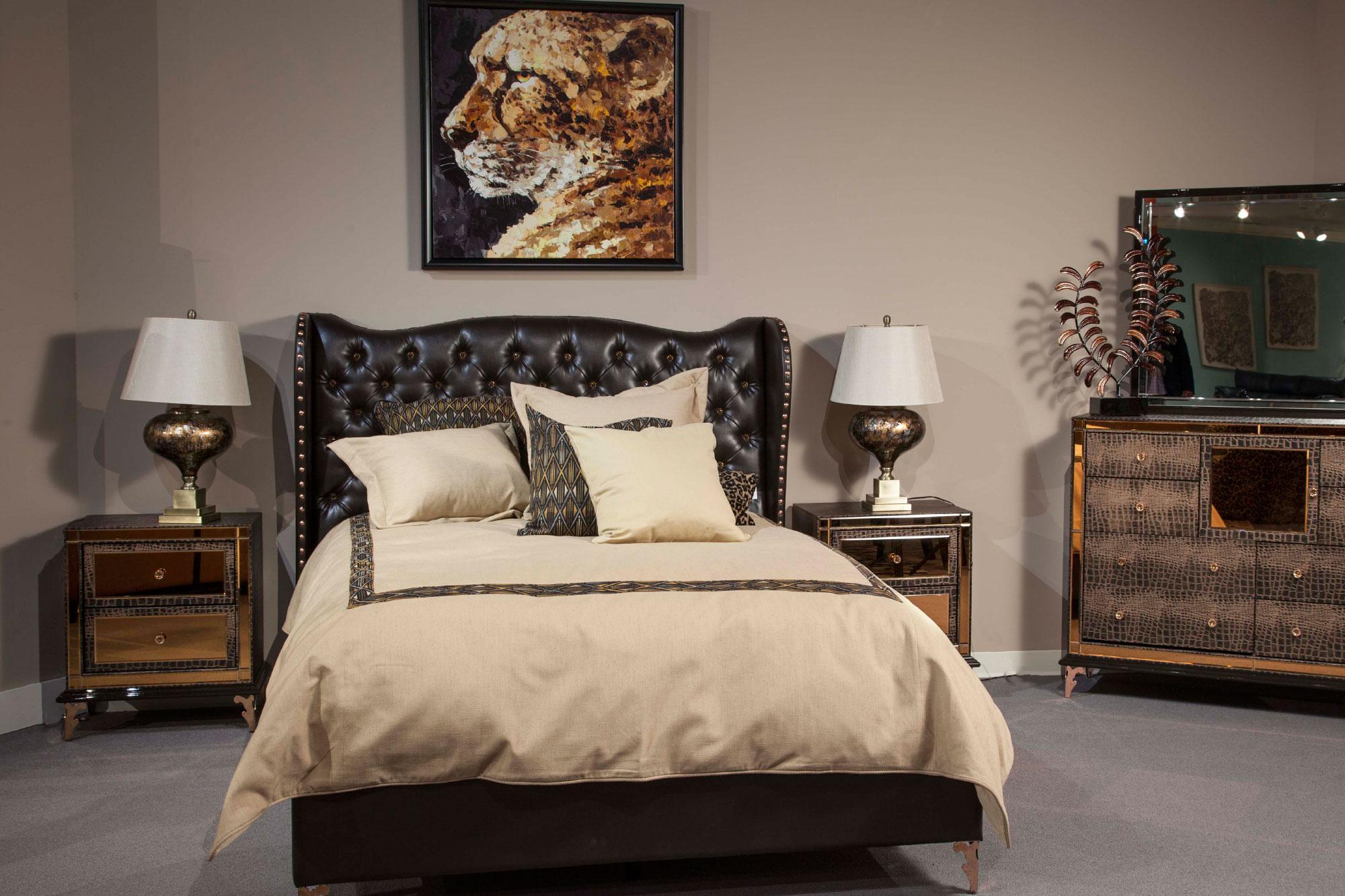 28 hollywood aico bedroom furniture set aico