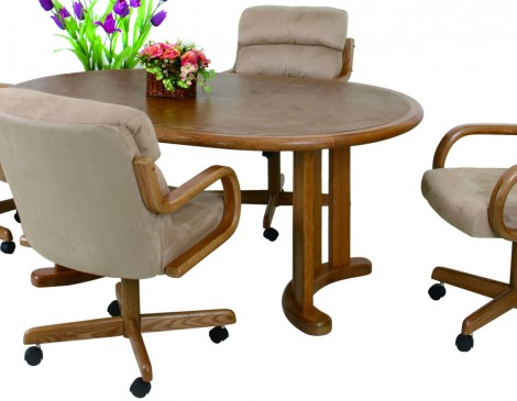 room furniture douglas casual furniture caster dinnette dining set