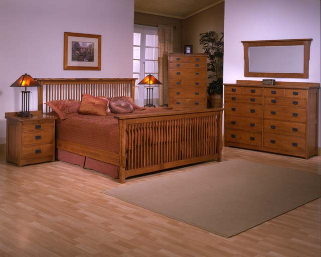 Trend Manor Mission Spindle Bedroom Collection Broadway Furniture