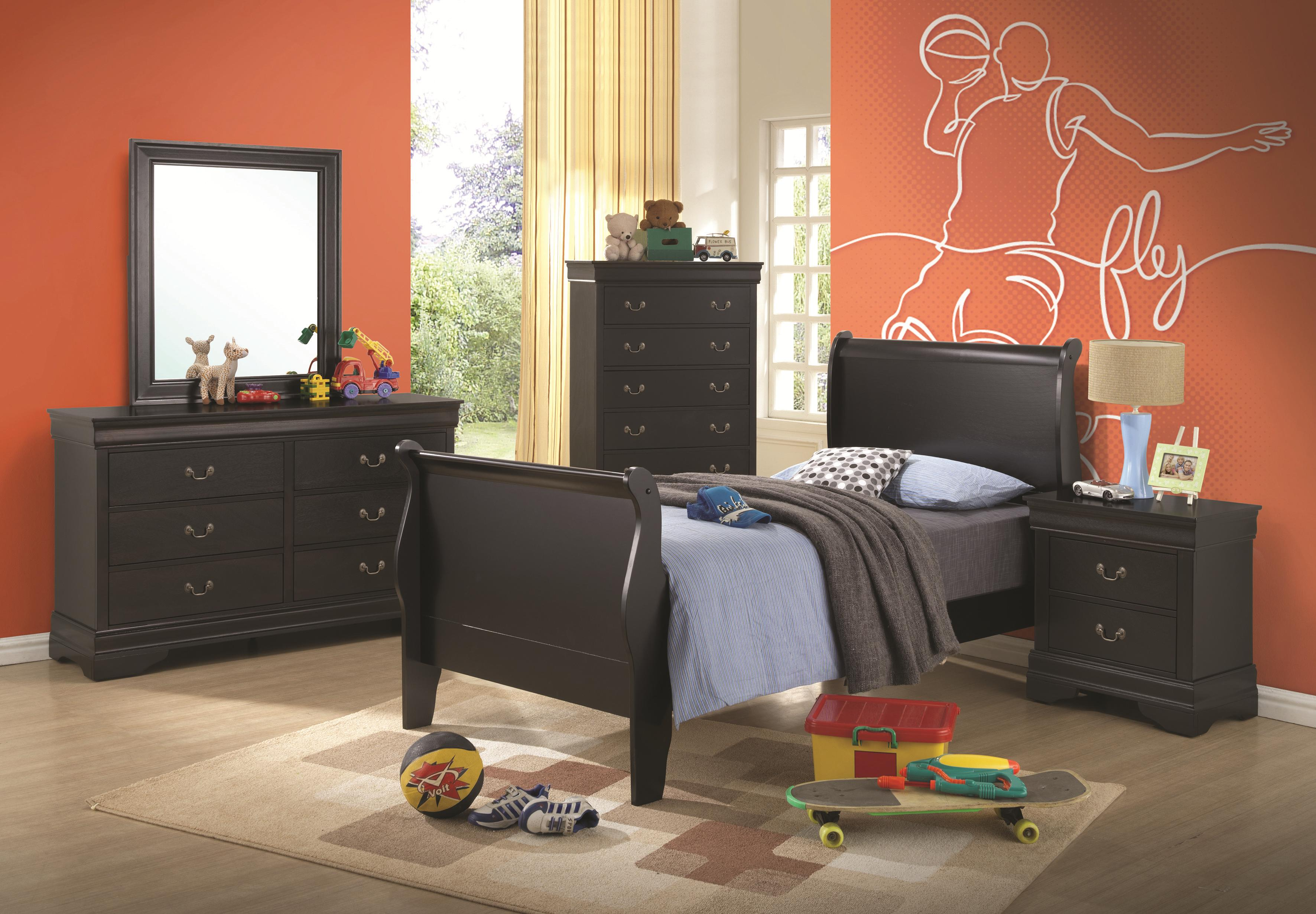coaster furniture louis philippe bedroom set broadway furniture