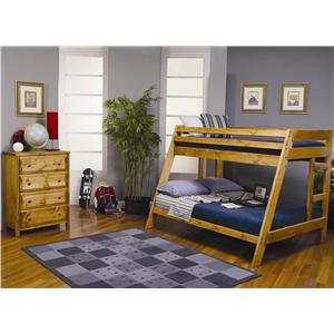 Coaster Furniture - Wrangle Hill Bunk Bed Over