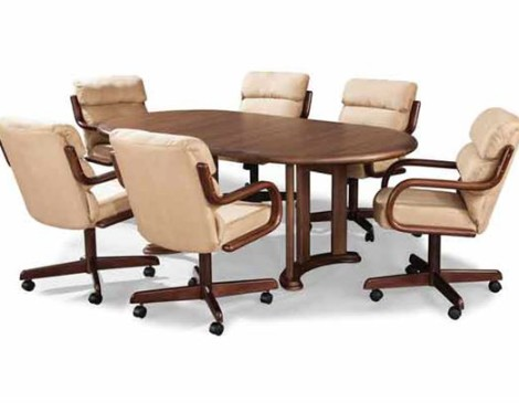 Douglas Casual Living Ashley Table and Bucket Chairs