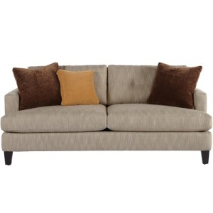 Jonathan Louis Mia Contemporary Sofa with Track Arms