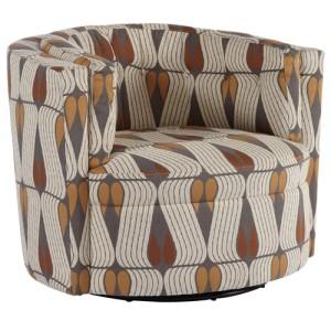 Jonathan Louis Mia Contemporary Swivel Chair