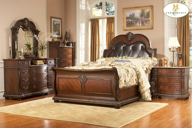 Home Elegance Palace Bedroom Collection Broadway Furniture