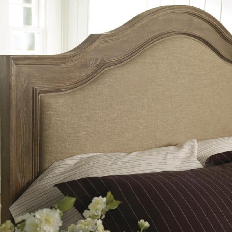 Schnadig Cobblestone Upholstered Bed Broadway Furniture