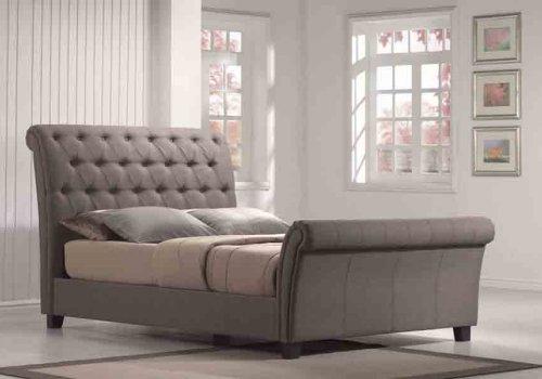 Emerald Home Furnishings Innsbruck Upholstered Sleigh Bed Broadway Furniture