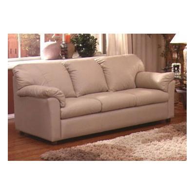 Omnia Furniture Tahoe Leather Sleeper Sofa
