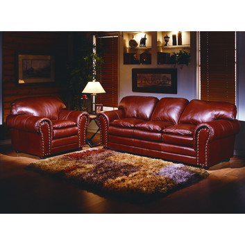 Omnia Furniture Torre Leather Furniture Collection