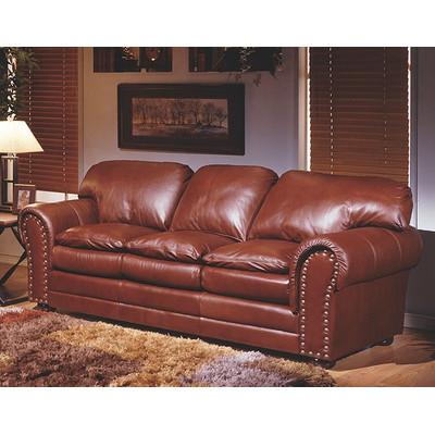 Omnia Furniture Torre Leather Sofa Bed