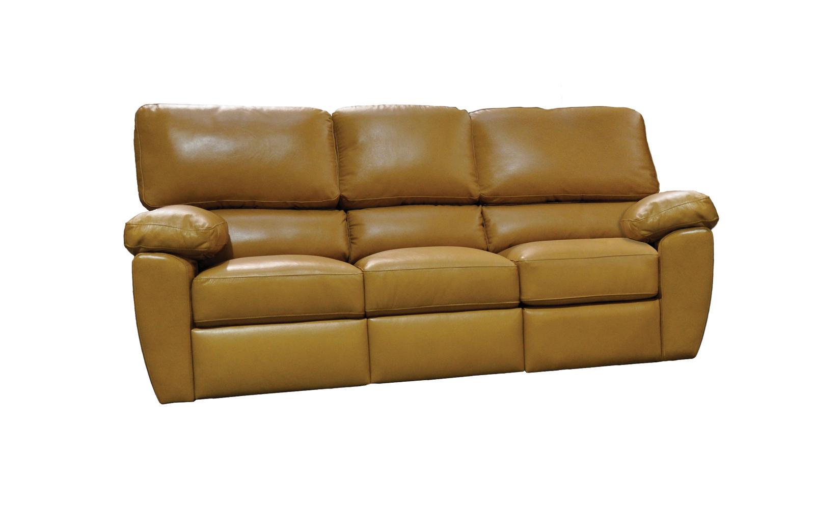 Omnia Furniture Vercelli Reclining Leather Sofa
