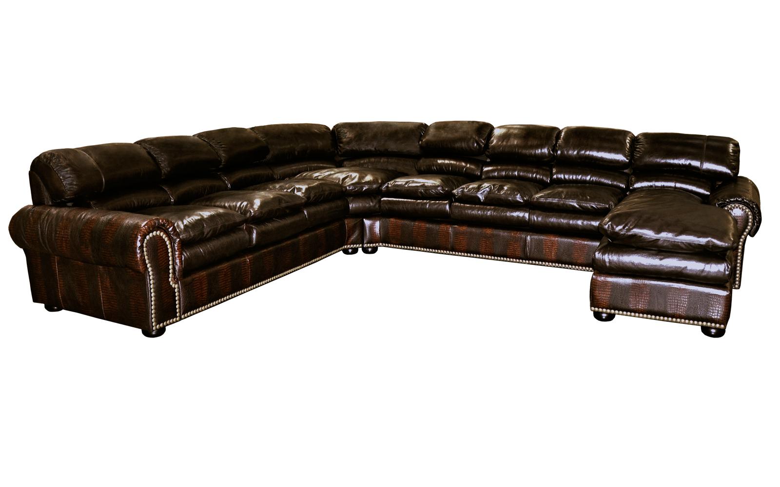 Omnia Furniture Williamsburg Leather Collection