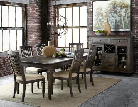 Magnussen sutton place dining room set for Magnussen dining room furniture ideas