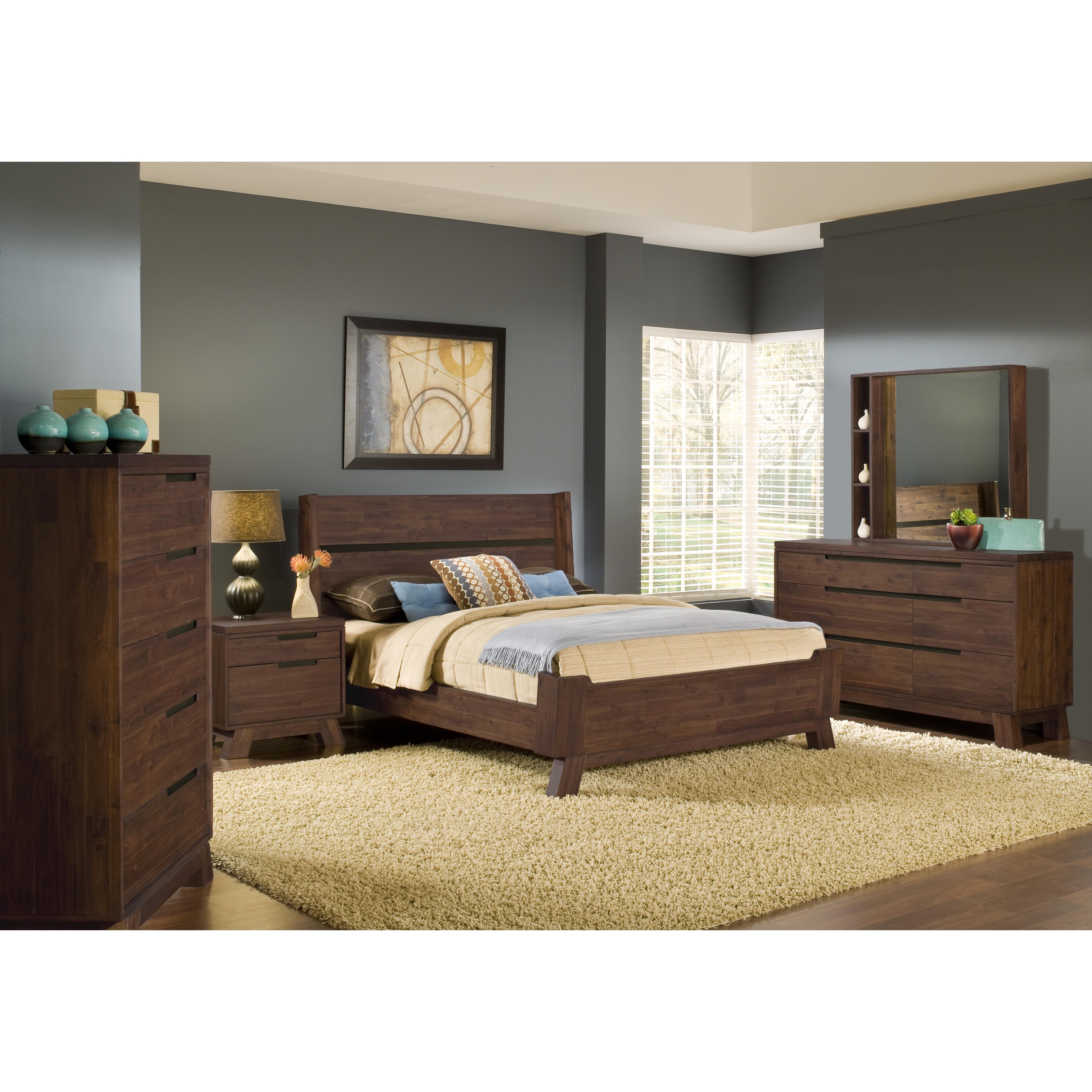 Modus portland bedroom collection broadway furniture for Bedroom suite furniture