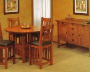 Trend Manor Mission Counter Height Dining Room Set