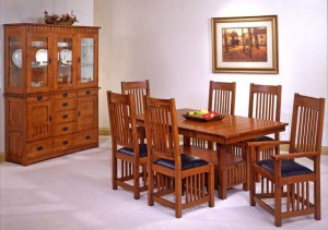 Genial ... Trend Manor Standard Height Mission Dining Room Set Solid Wood 1168
