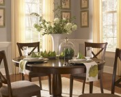 A America Desoto Dining Room Set OVAL TABLEroom view