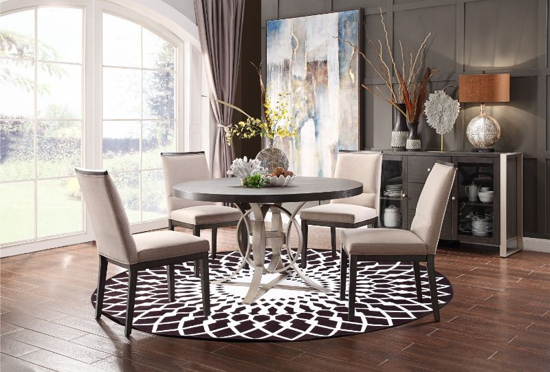 Standish Round Dining Table by Homelegance