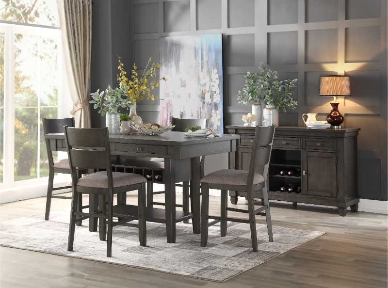 Baresford Counter Height Table by Homelegance