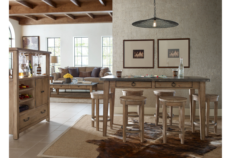A home scene with new furniture to illustrate tips for buying furniture from a small business online