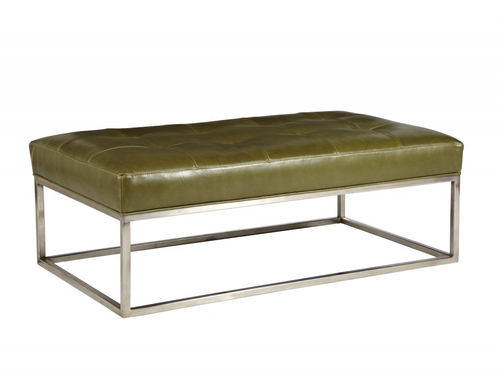 Cool Copley Metal Leather Cocktail Ottoman By Jonathan Louis Squirreltailoven Fun Painted Chair Ideas Images Squirreltailovenorg