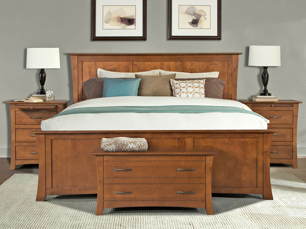 A-America-Grant-Park-Wood-Bedroom-Set | Broadway Furniture