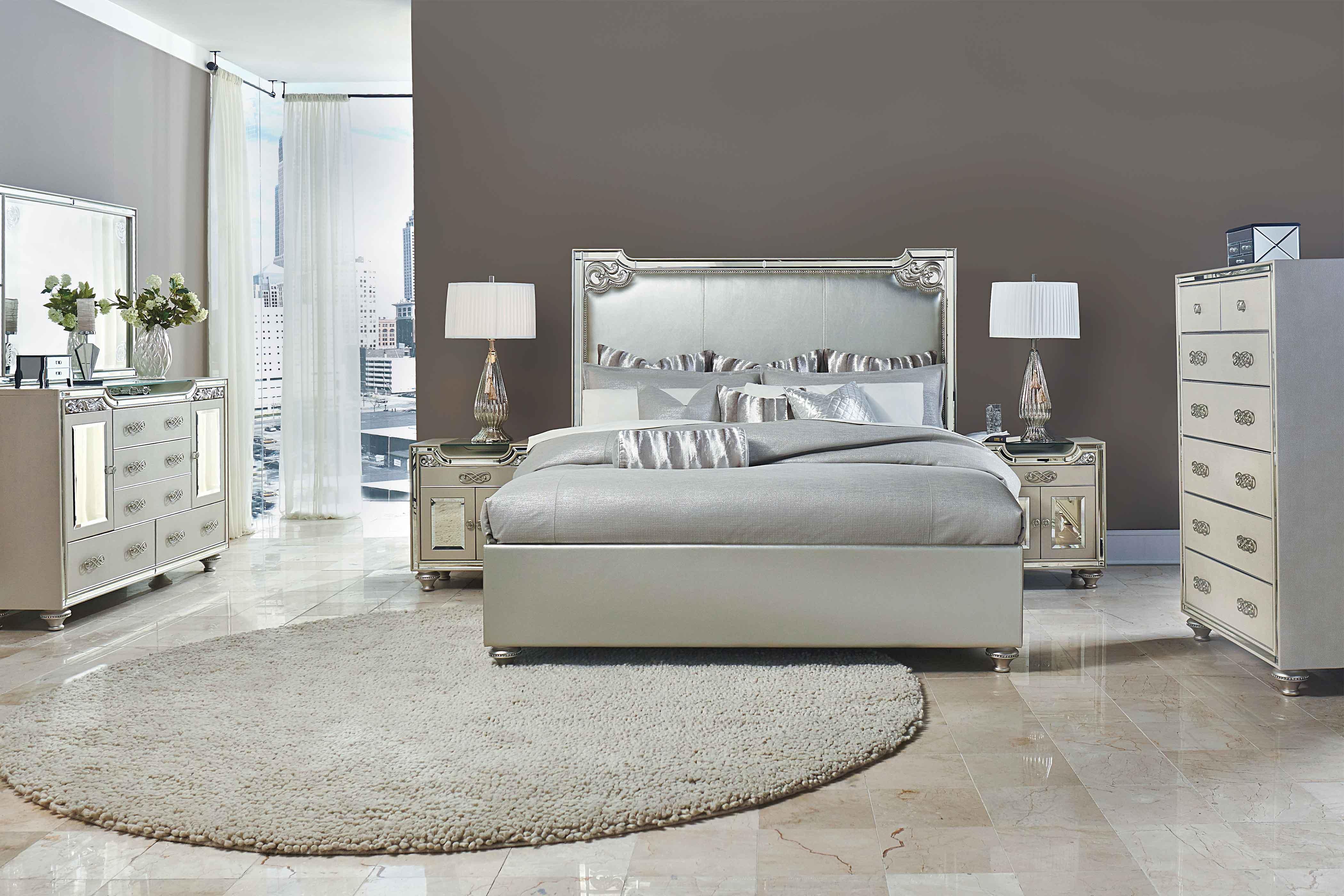 Aico Bel Air Park Bedroom Collection Broadway Furniture - Aico bedroom sets