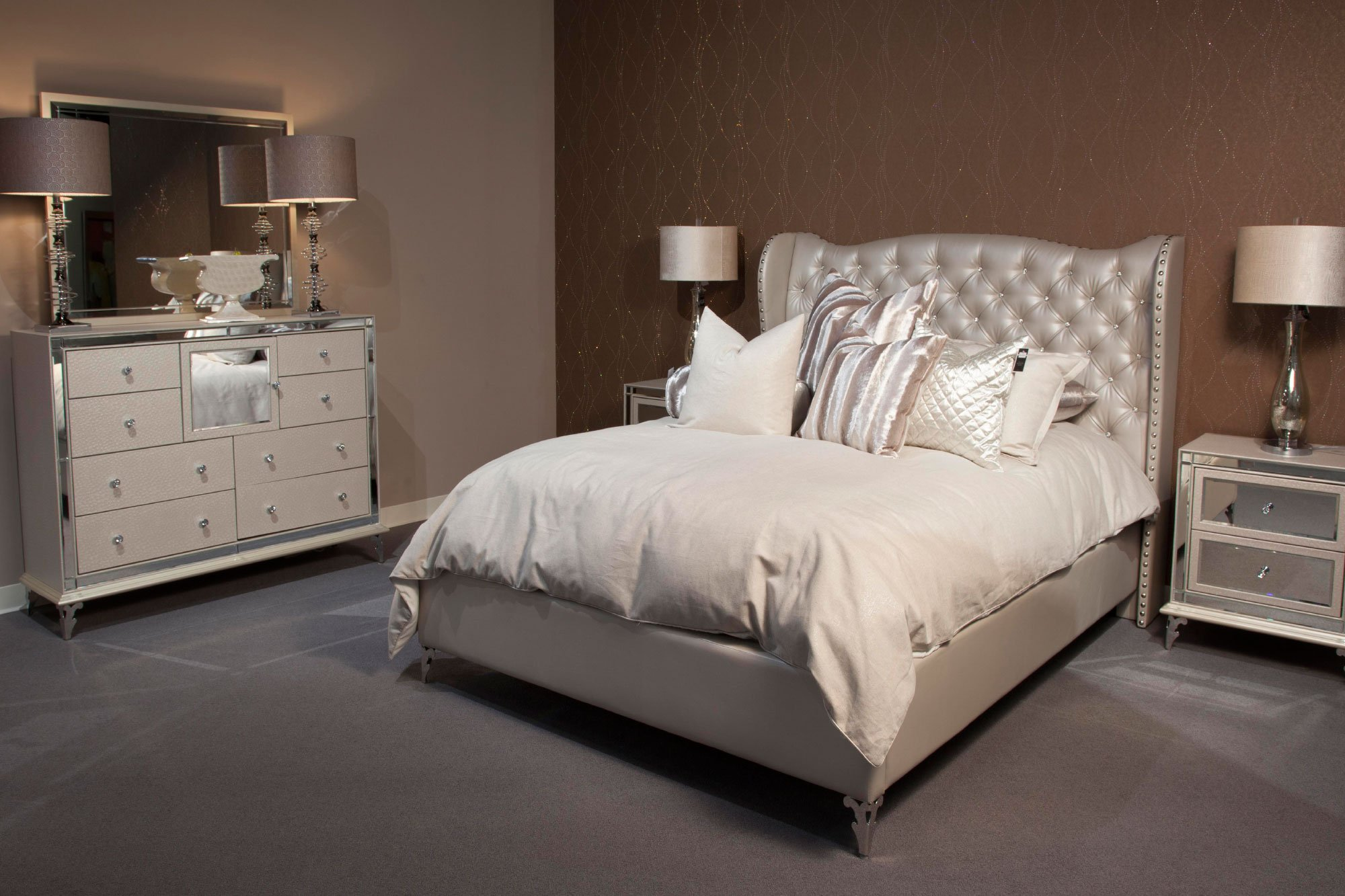 de bedroom blanc en aico lago chateau set collection