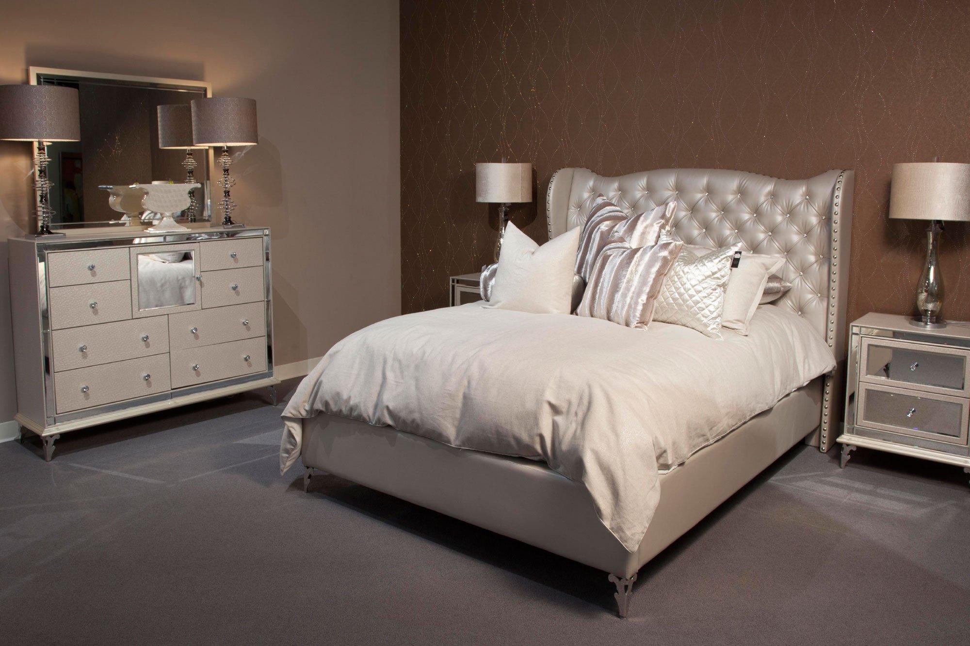 aico furniture hollywood loft bedroom set broadway furniture