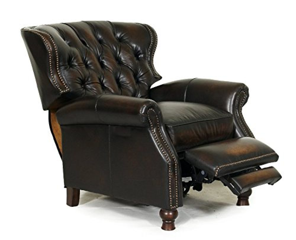 BarcaLounger Presidential II Recliner Stetson Coffee Extended
