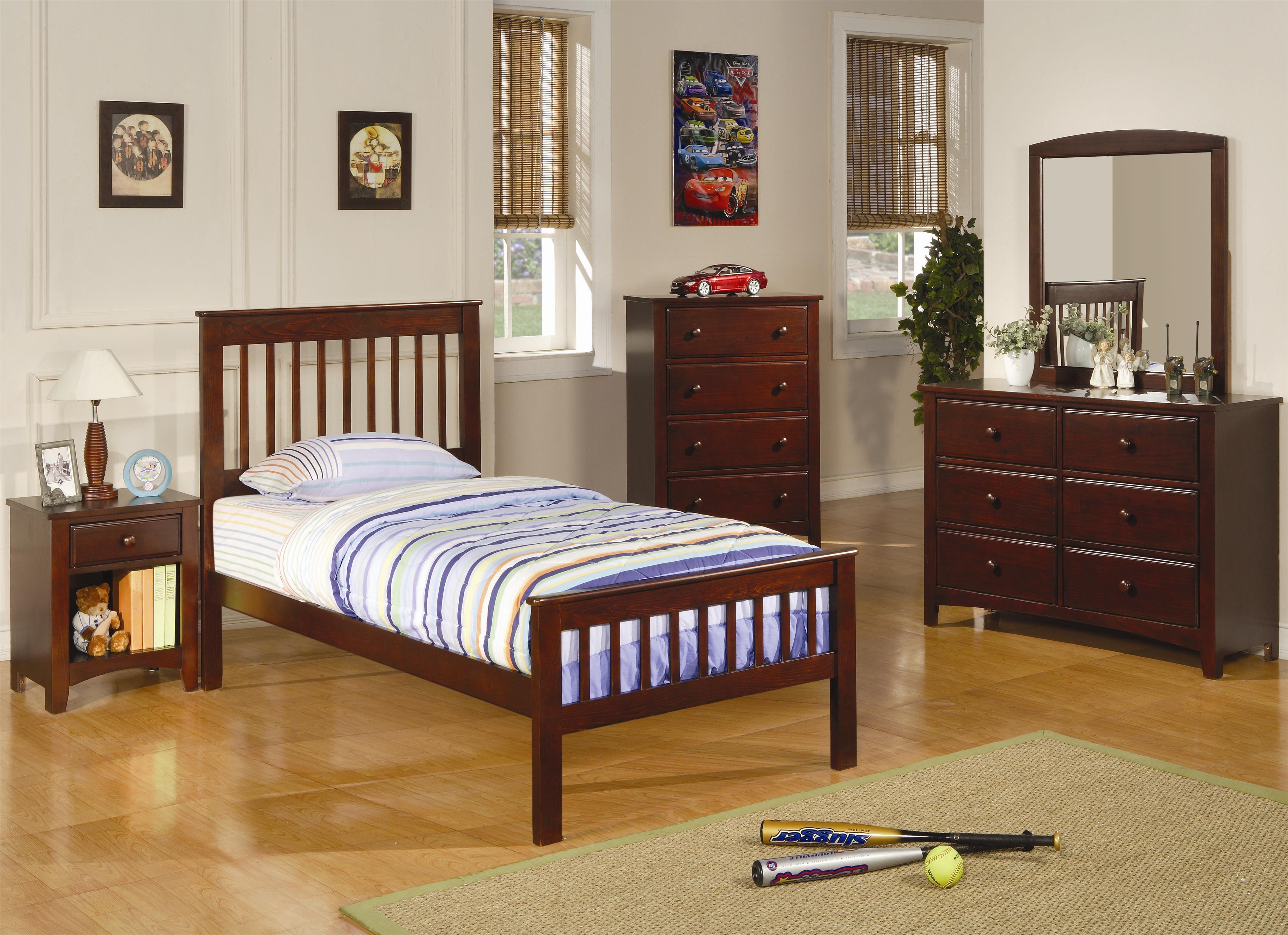 coaster furniture - parker bedroom set - broadway furniture