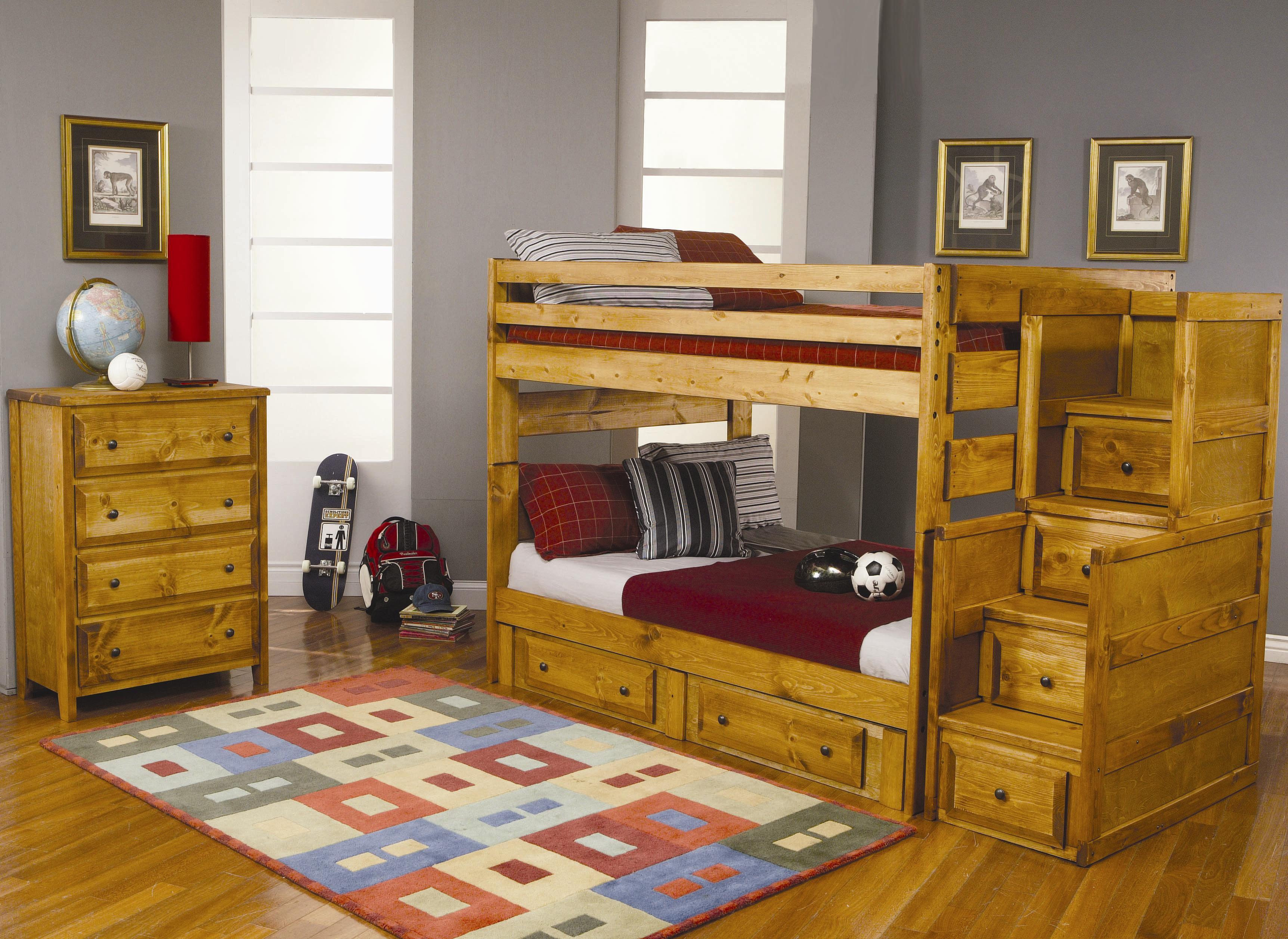 coaster furniture wrangle hill bunk bed broadway furniture