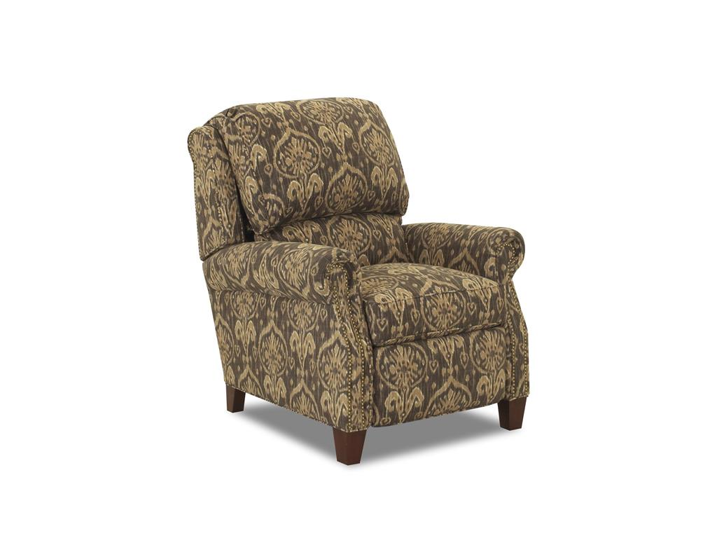 Comfort design living room martin high leg reclining chair for Comfort living furniture