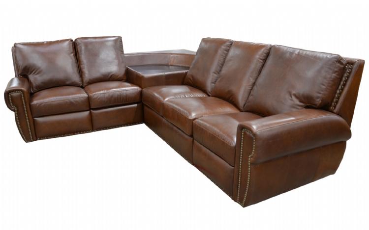 Omnia Furniture Dakota Reclining Sectional