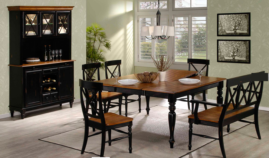 Ordinaire Emerald Home Furnishings Gatlinburg Dining Room Set
