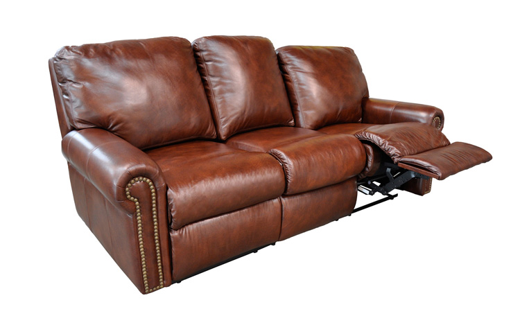 Omnia Furniture Fairmont Reclining Sofa Broadway