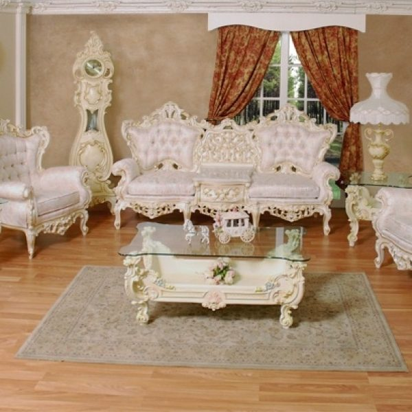 French Provincial Living Room Furniture | Broadway Furniture