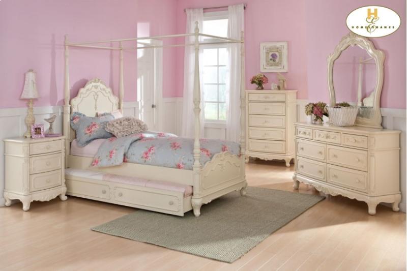 Home Elegance Cinderella Bedroom Collection Broadway
