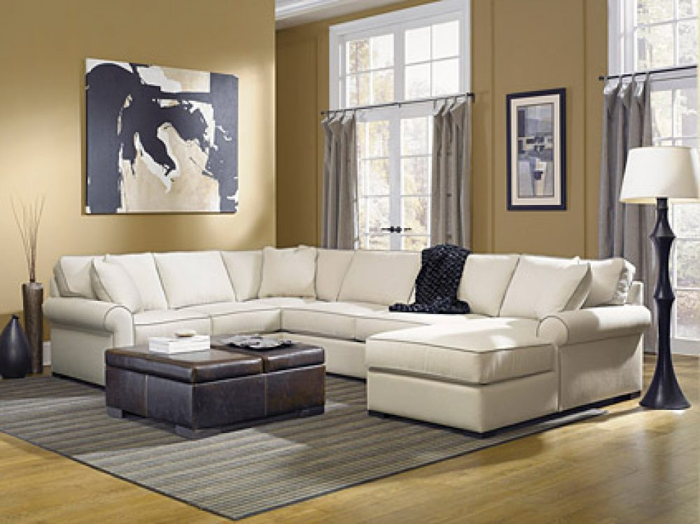 Jonathan Lewis Jayden Sectional Sofa Room View