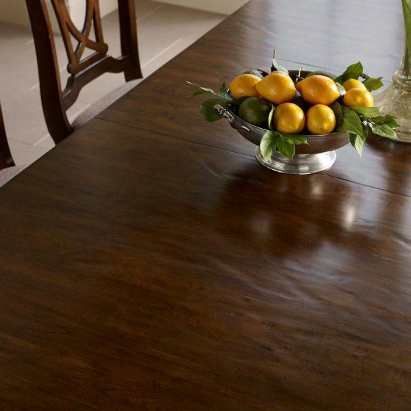 Kincaid Furniture Portolone Trestle Table Dining Room Set ...