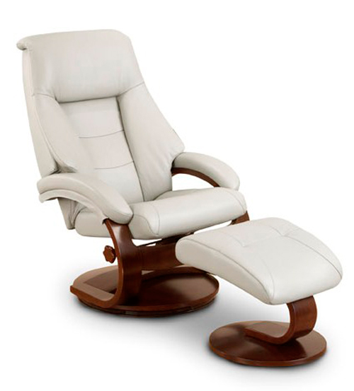 Mac-Motion-58-Oslo-Series-Leather- Ergonomic Recliner Ottoman