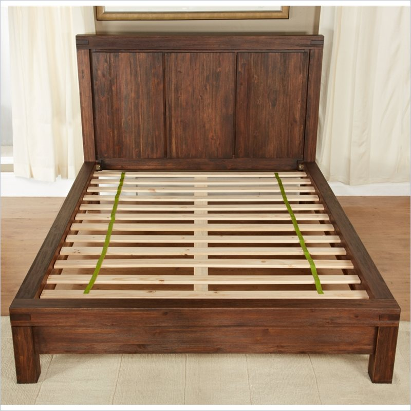 Modus Meadow Solid Wood Platform Bed Broadway Furniture