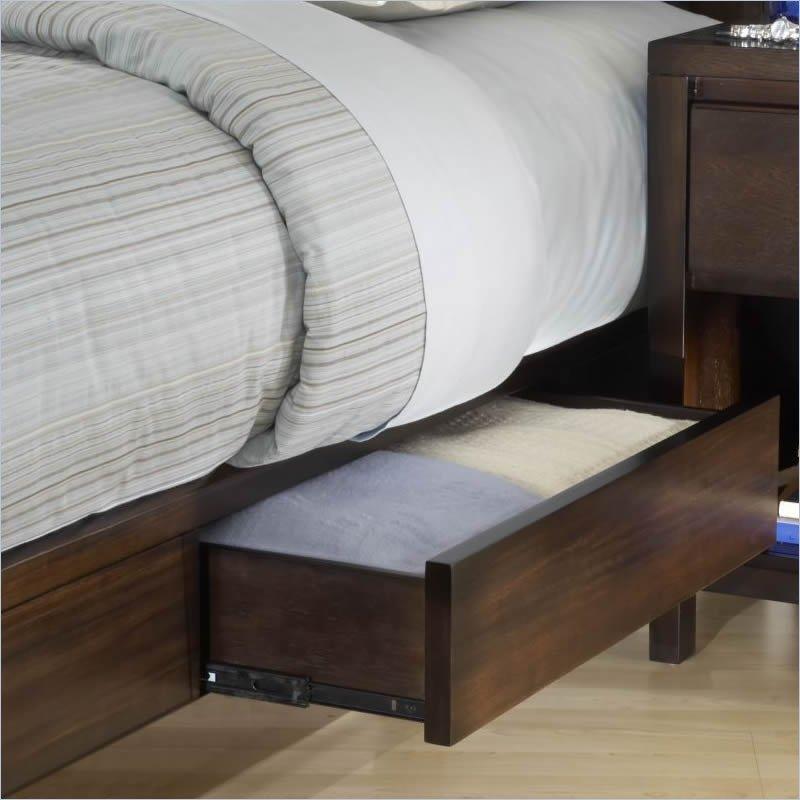 Modus-Urban-Loft-Low-Profile-Storage-Bed-3- & Modus-Urban-Loft-Low-Profile-Storage-Bed-3-Piece-Bedroom-Set-in ...