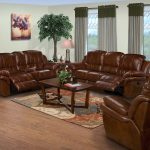 couch, loveseat, and recliner to illustrate how to arrange