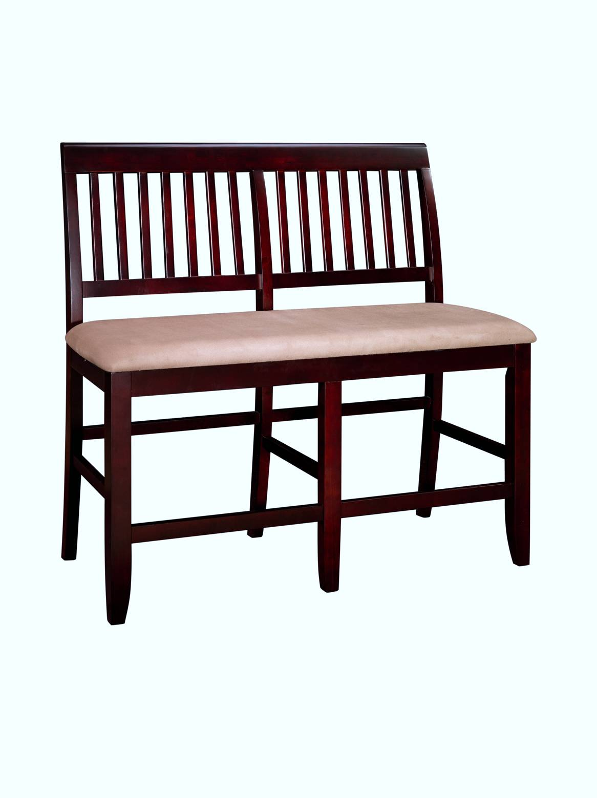 New classic furniture brendan dining room set bench seat for Dining room sets with bench seat
