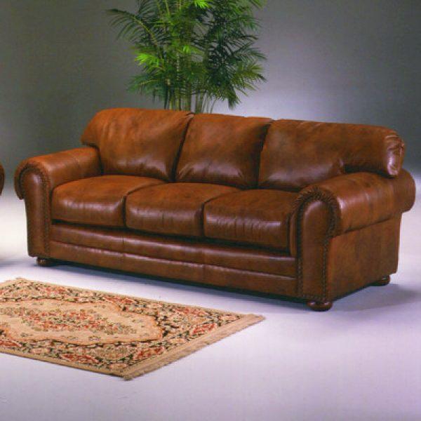 Delightful Omnia Furniture Winchester Cheyenne Leather Sofa